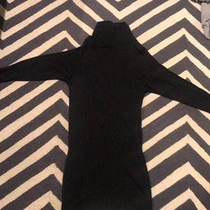 Black cotton Athleta dress. XXS